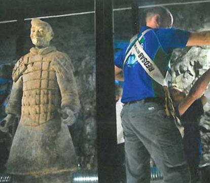 Bedsab hjälper Qin Shihuangdis terrakottaarmé!